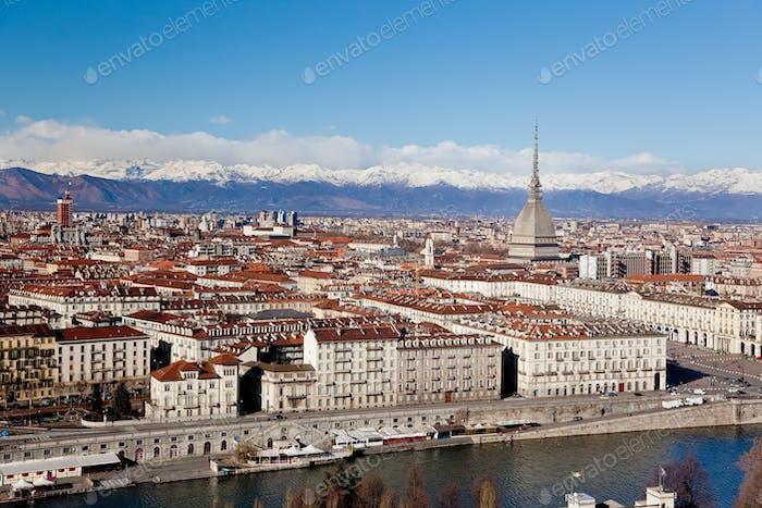 Landschaft von Turin