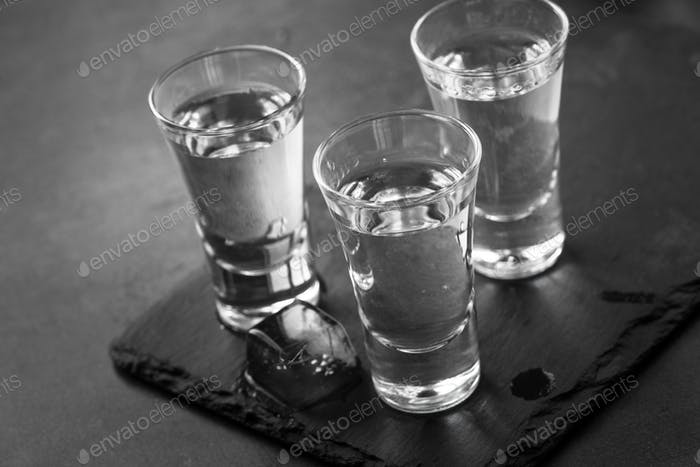 Wodka Shot Drink.
