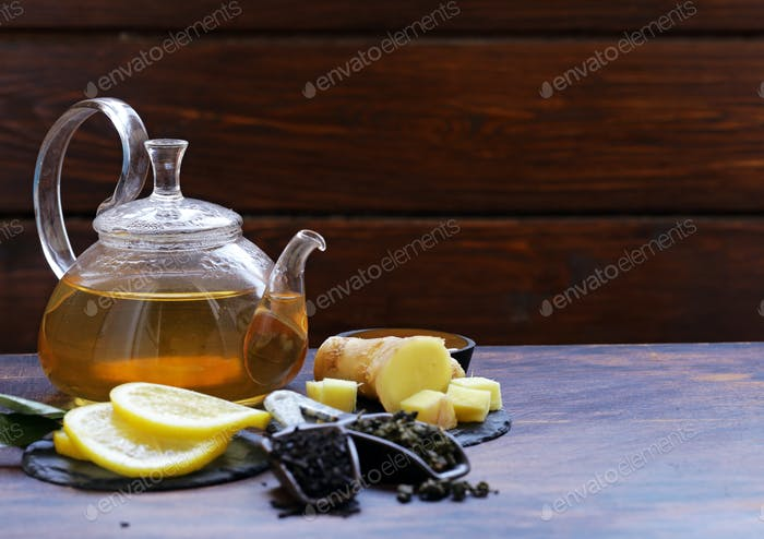 Tea Set with Ginger