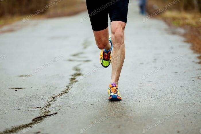 Beine Läufer Herren