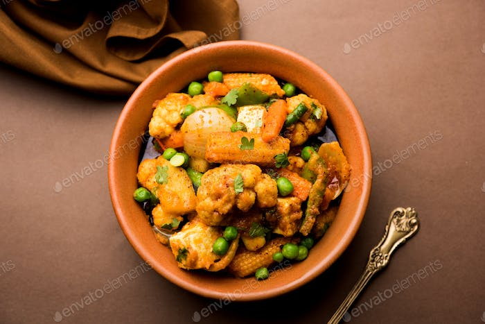Mixed Vegetable Masala from India