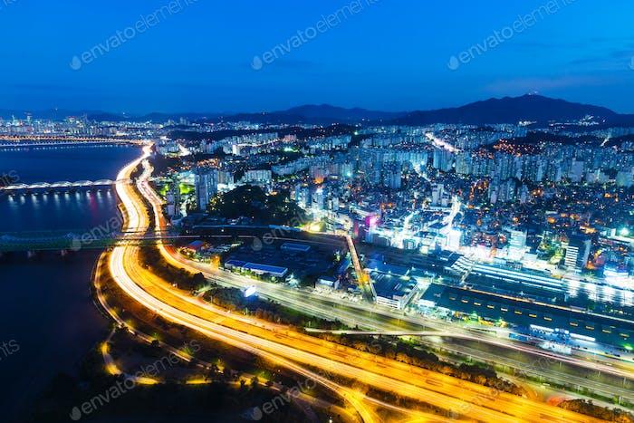 Seoul Stadt Nacht
