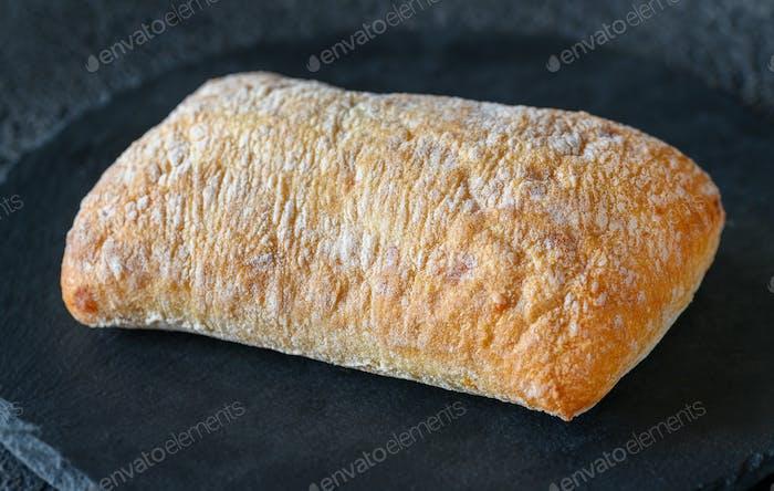 Ciabatta - Italian white bread