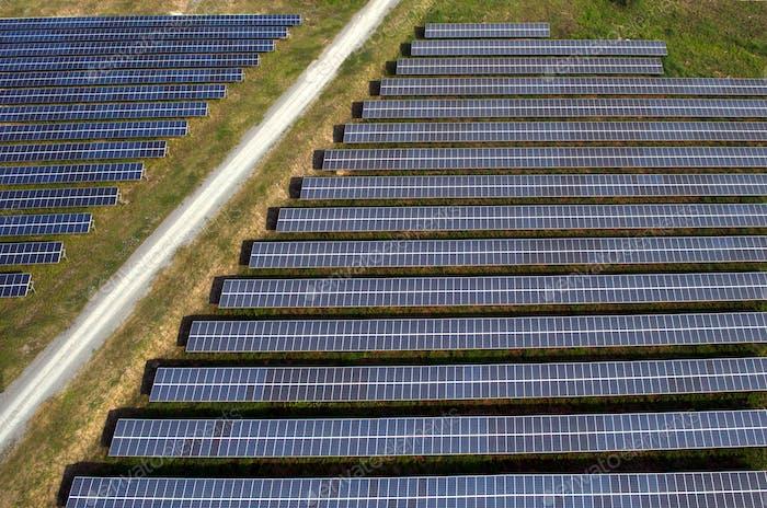 Solar panels, solar farms in Asia