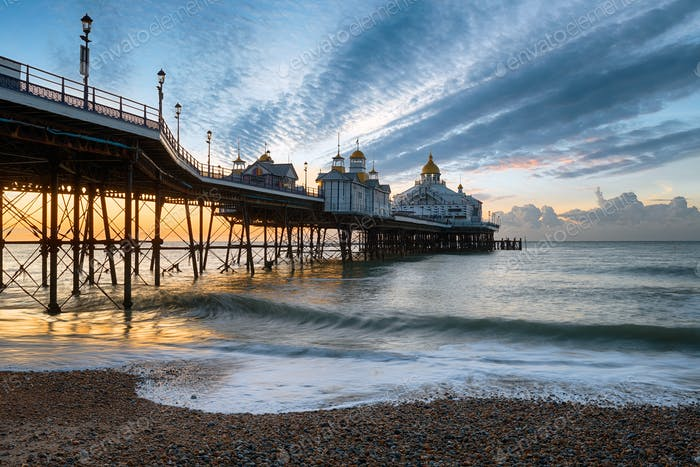 Dawn at Eastbourne
