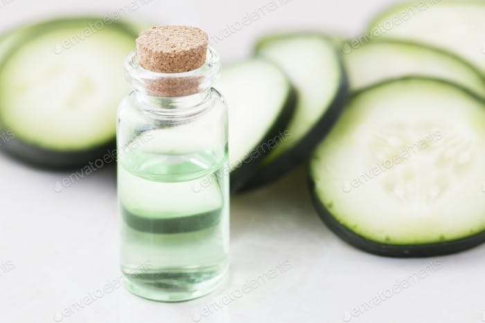 Cucumber Slices and Extract