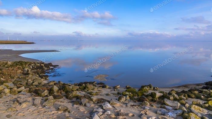 Dutch coast at Punt van Reide