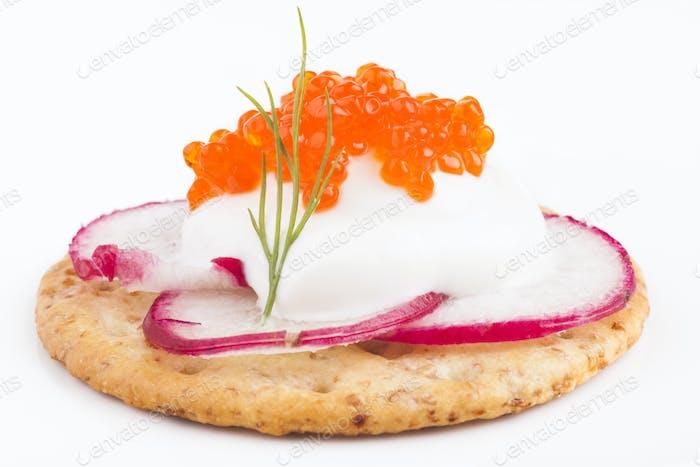 Appetiser Closeup