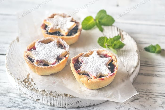 Mince pies  - traditional Christmas pastry