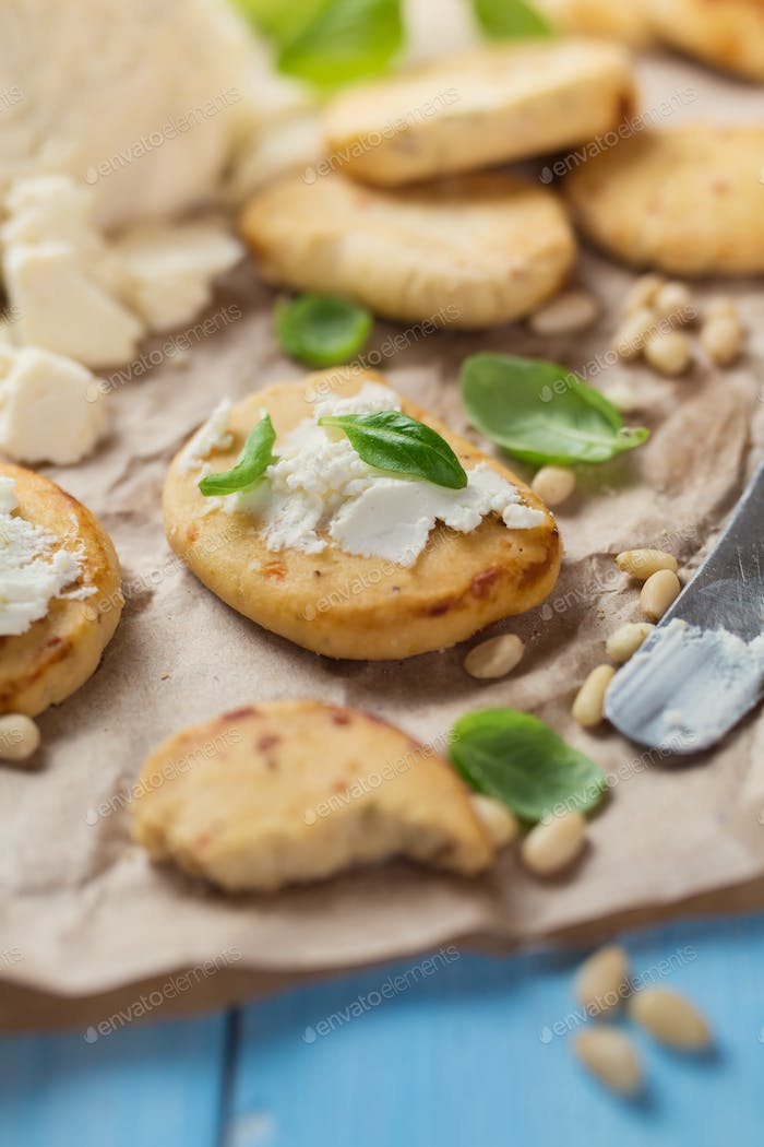 Cookies with Soft Cheese