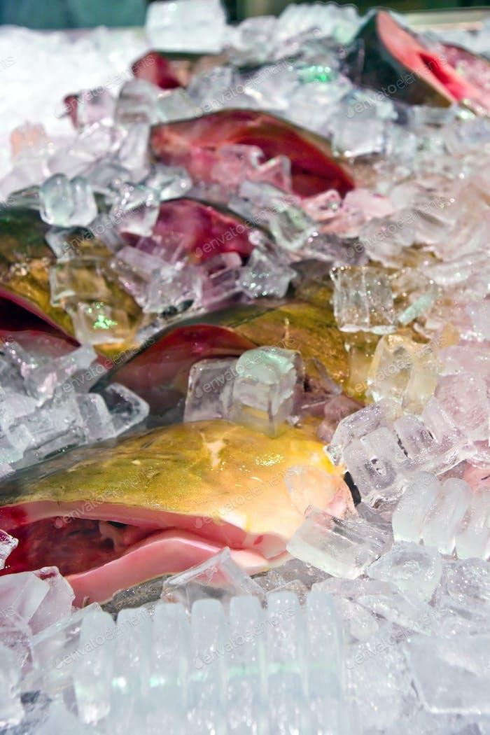 Iced fish