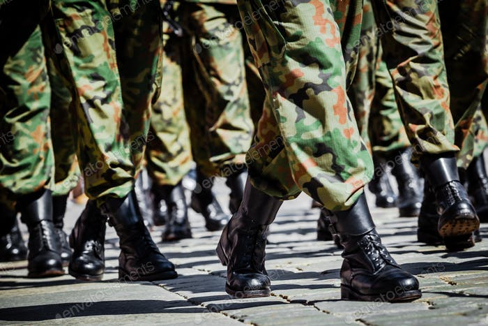 Polnische Armee - Parade zum Unabhängigkeitstag