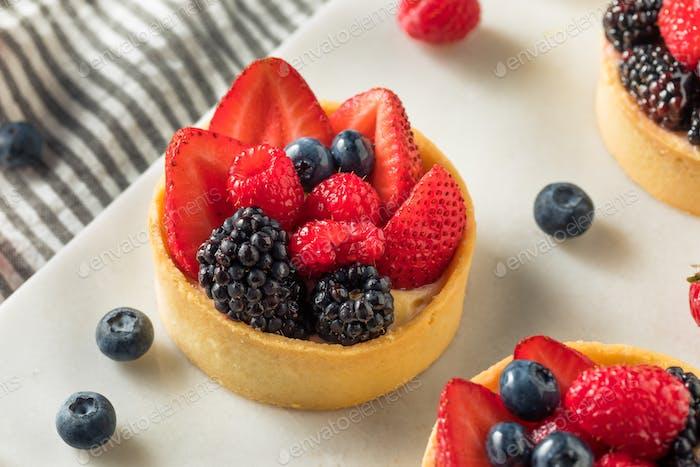 Homemade Fruit Tart Pastry