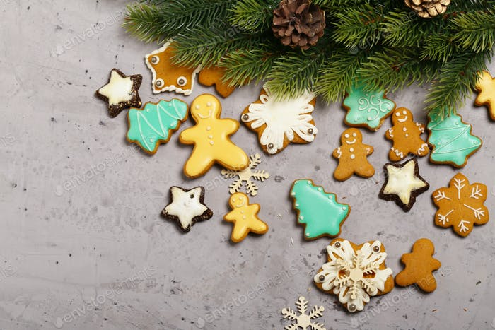 Gingerbread Cookies Christmas Decoration