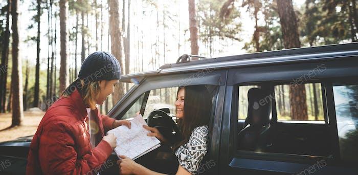 Roadtrip Adventure Activity Remote Exploration Concept
