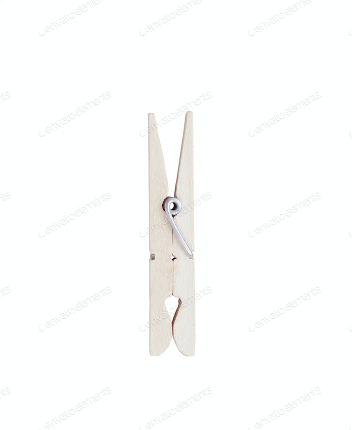 clothes pin isolated