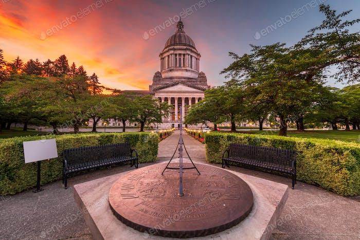 Olympia, Washington, EE.UU. Edificio del Capitolio del Estado