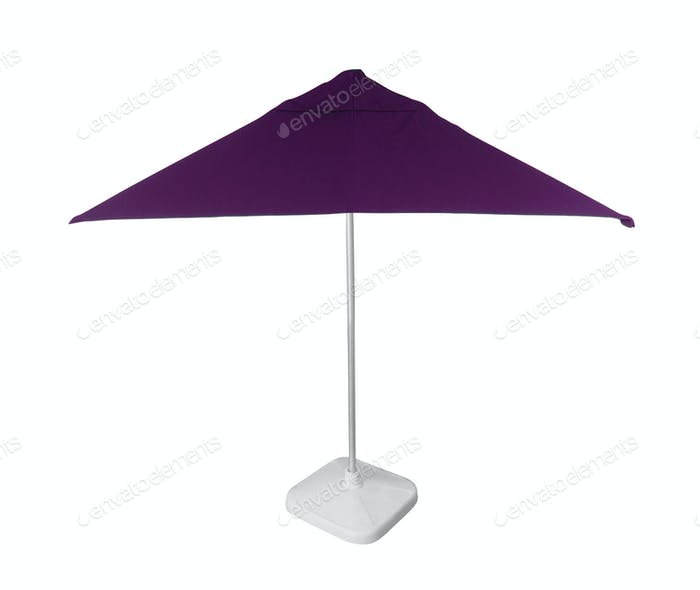 Beach umbrella isolated