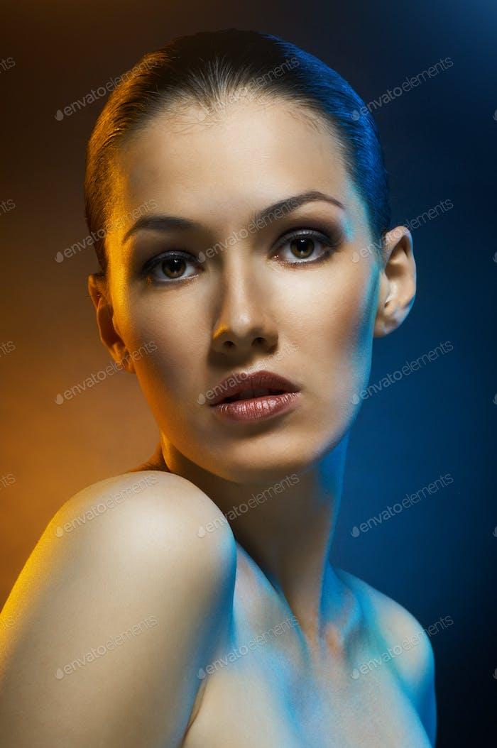 Schönheit Porträt