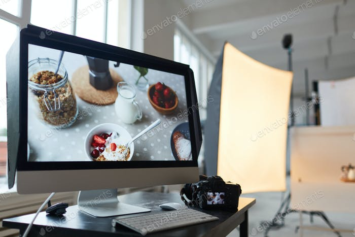 Stock photography production