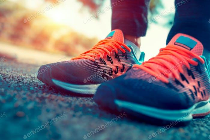 Sportive life concept