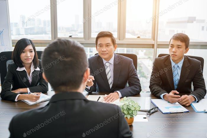 Encuentro con inversores