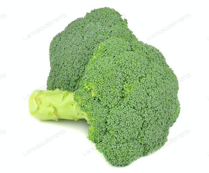 Fresh Pieces of Broccoli