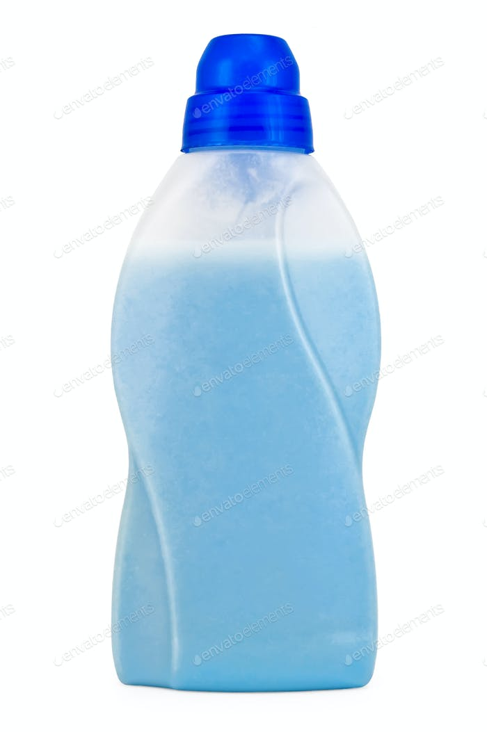 Bottle of blue