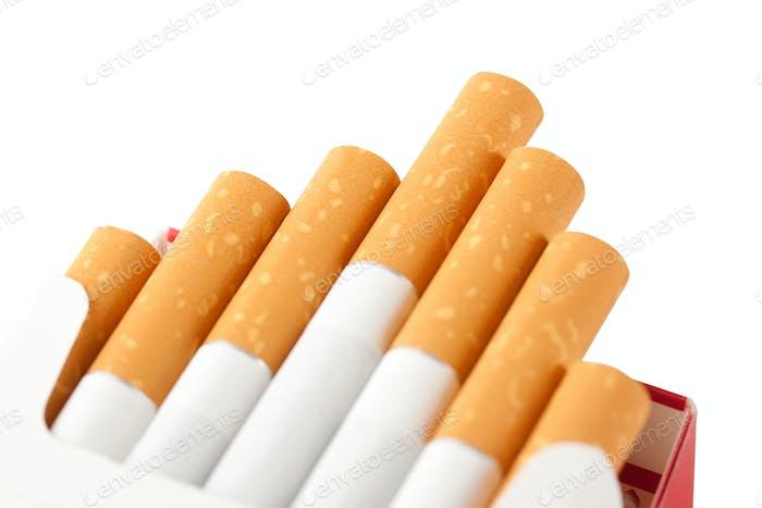 Weiße Zigaretten