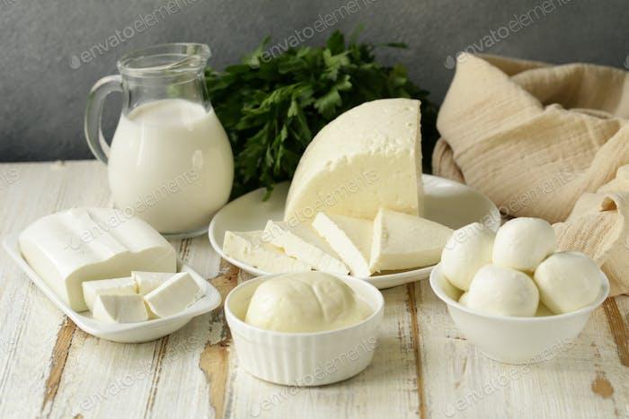 Homemade Milk Soft Cheese