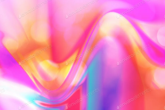 Abstract neon fluid blur natural background, pink.