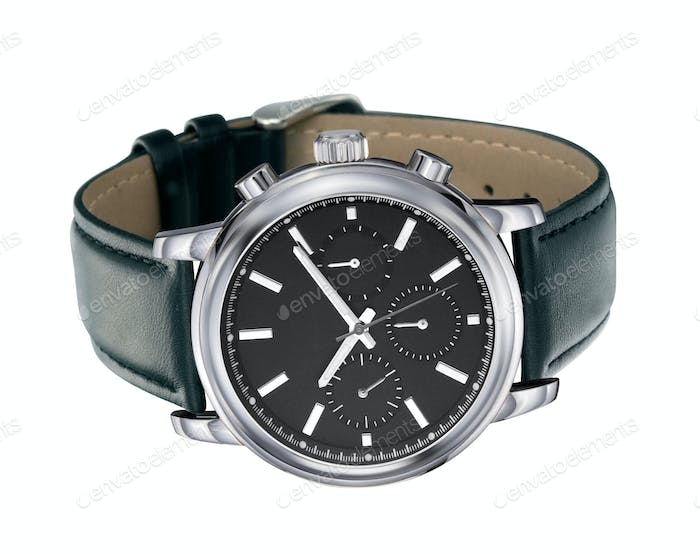 watches on a white background