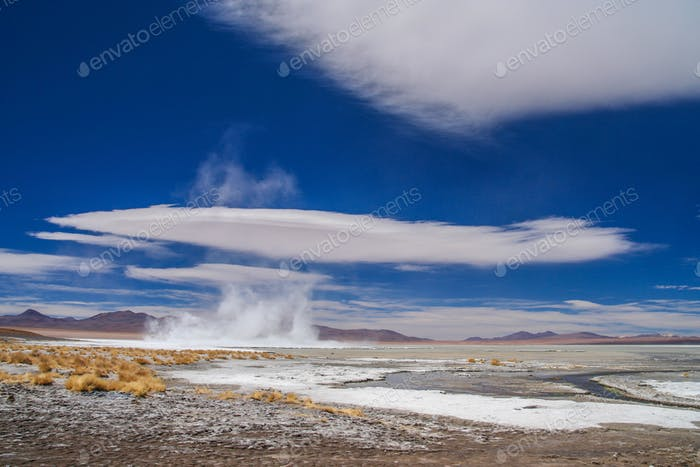 Altiplano hot springs