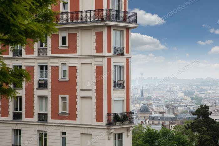 House in Montmartre, Paris