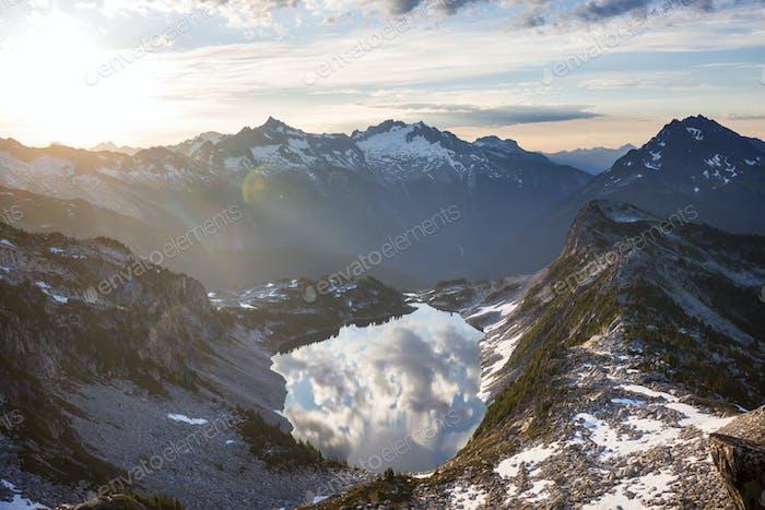 Montañas en Washington