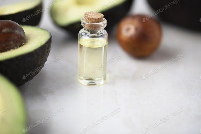 Bottle of Avocado Oil