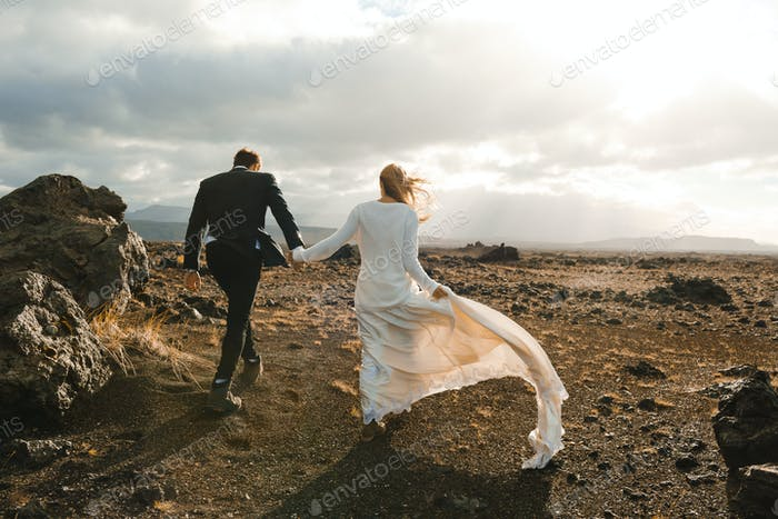Wedding promenade