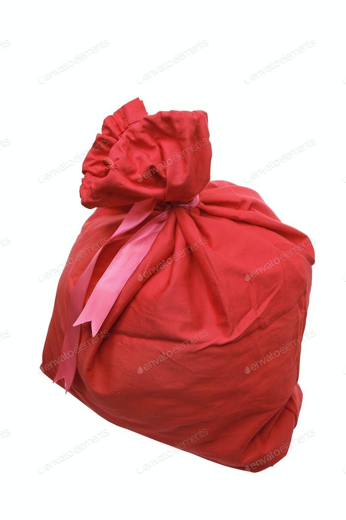 Weihnachtsmann-Geschenktüte