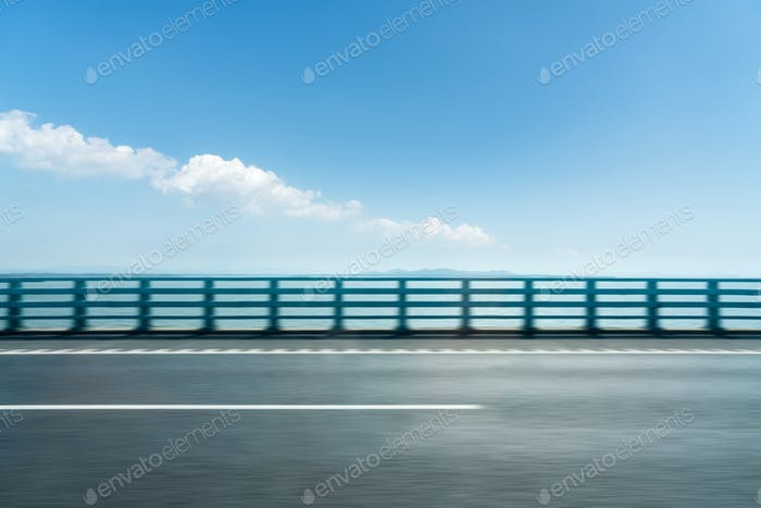 road motion blur background