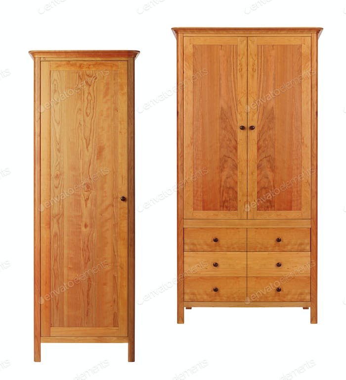 Two Cabinets isolated
