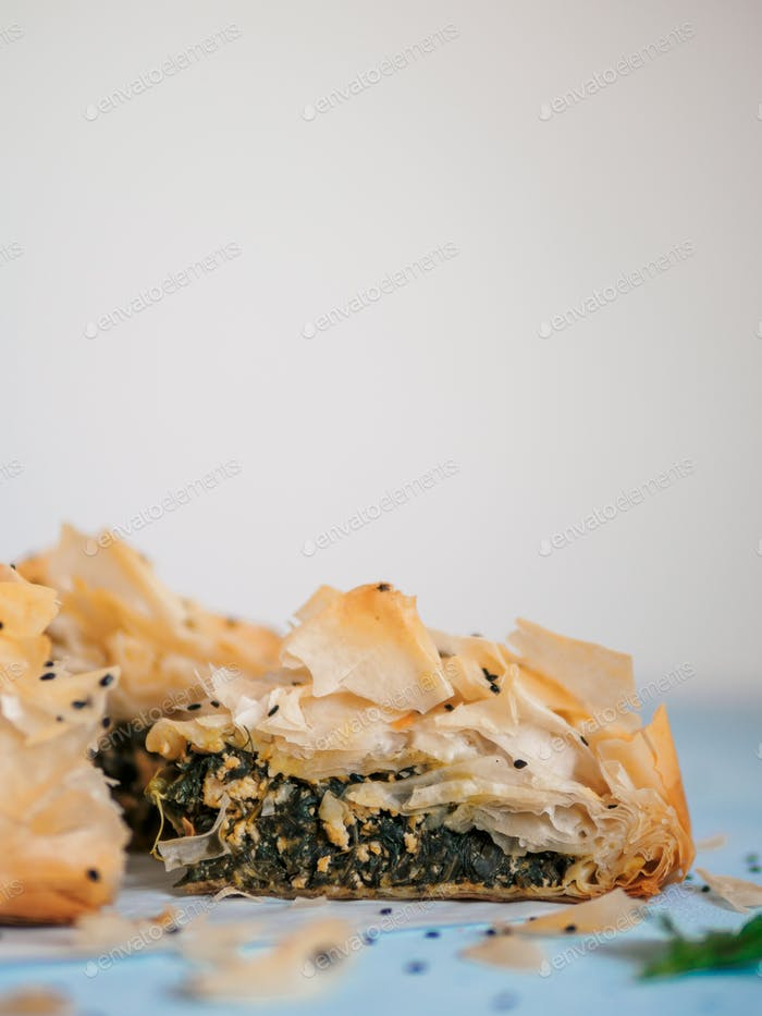 Vegan Spanakopita Spinach Pie