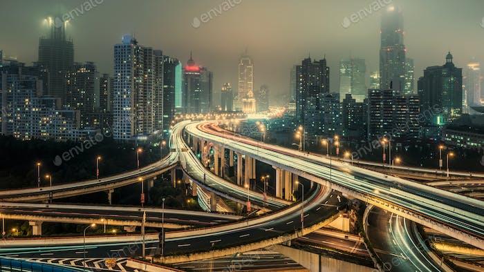 Shanghai Überführung