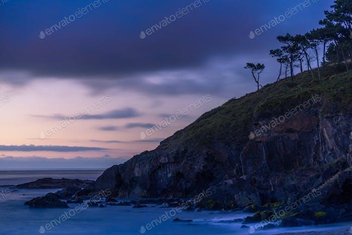 Landscape at Twilight, Spain
