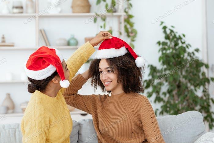 Preparación para Año Nuevo y Navidad y fiesta en casa
