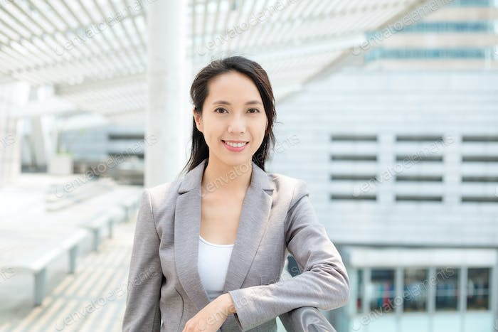 Businesswoman in business suit