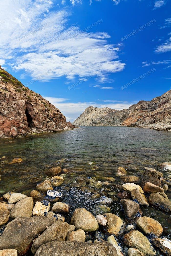 Calafico bay - San Pietro isle