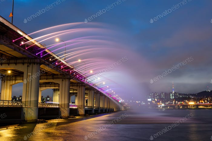 Banpo Bridge Seoul