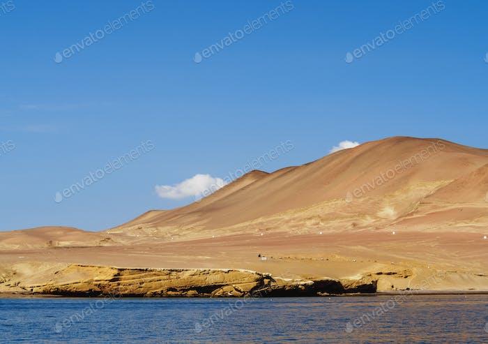 Paracas Peninsula in Peru