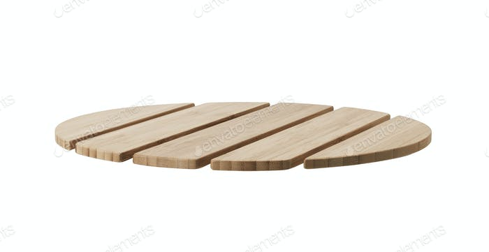 planks of wood isolated