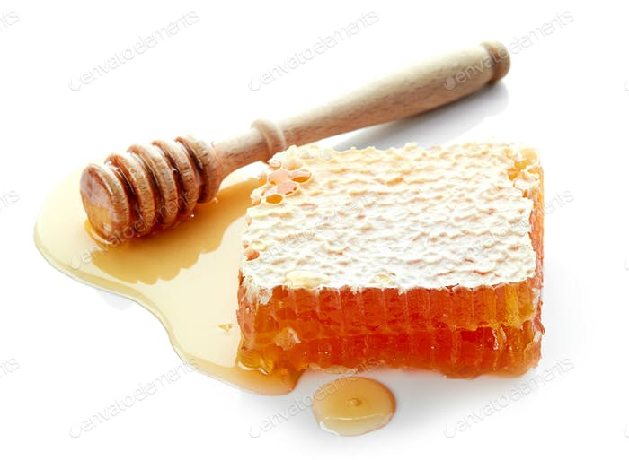 piece of honey